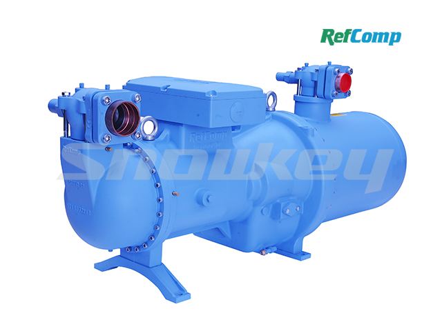 134-S-180WD Flooded Falling Film Special Screw Compressor