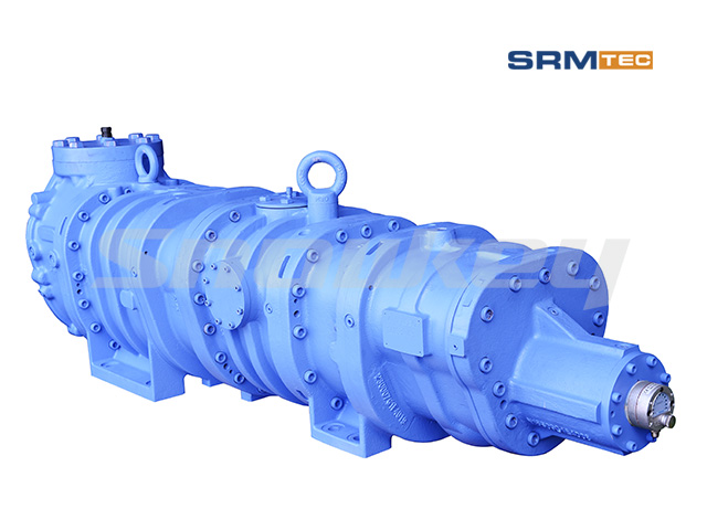 SRM-2016 Open-Type Compound Two-Stage Screw Compressor
