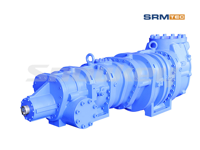 SRM-2016 Open-Type Compound Two-Stage Screw Compressor2