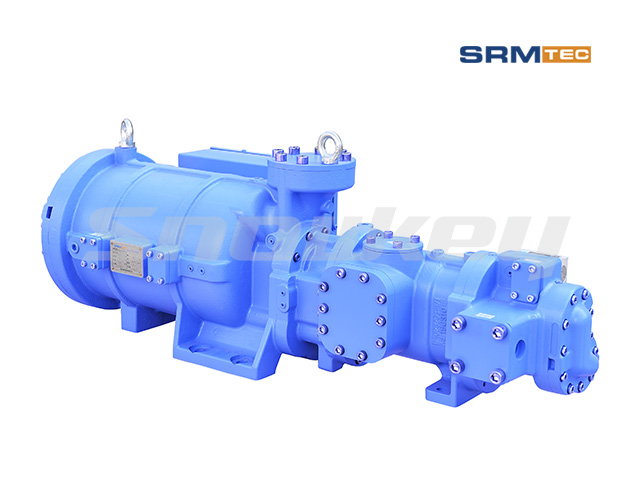 SRS-1008 Semi-Hermetic Compound Two-Stage Screw Compressor