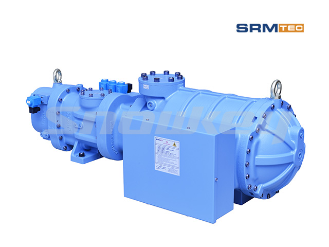 SRS-1210 Semi-Hermetic Compound Two-Stage Screw Compressor 2
