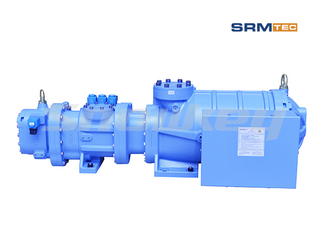 SRS-1210 Semi-Hermetic Compound Two-Stage Screw Compressor