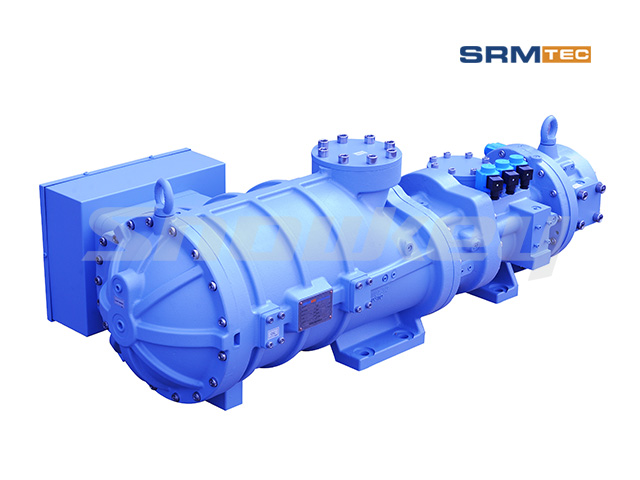 SRS-1612 Semi-Hermetic Compound Two-Stage Screw Compressor