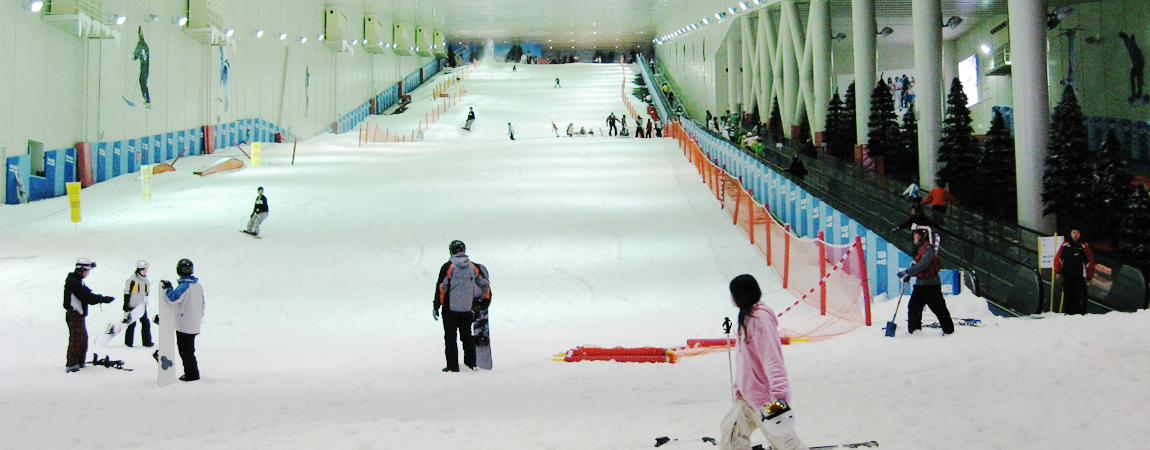 Artificial Ski Resort