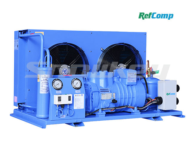 Air-cooled piston compressor condensing unit AP2H008 2