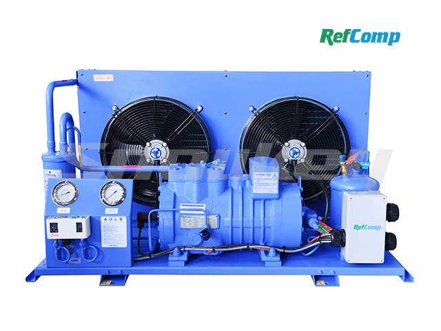 Air-Cooled Piston Compressor Condensing Unit AP2H008