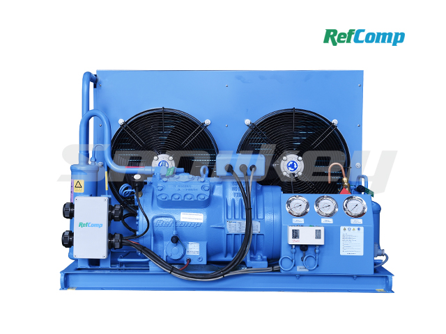 Air-Cooled Piston Compressor Condensing Unit AP4L008