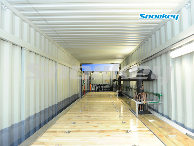 Containerized Brine Tank Type Block Ice Machine B100AF (10Tons/Day)