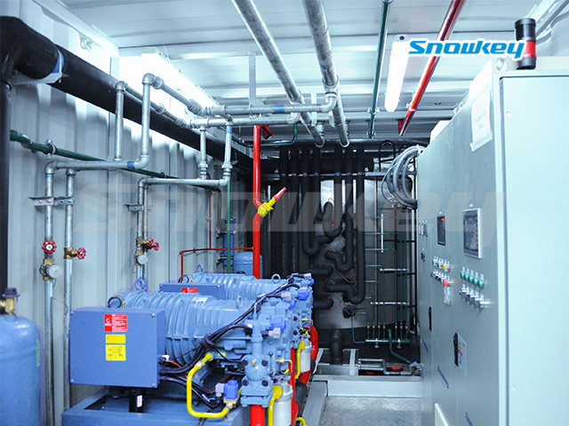 Containerized Flake Ice Machine Unit FIP45 (45 Tons/Day)