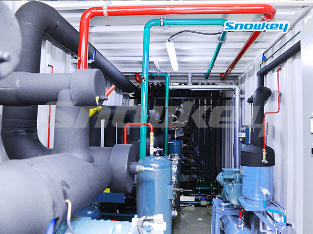 Containerized Flake Ice Machine (90T/D)