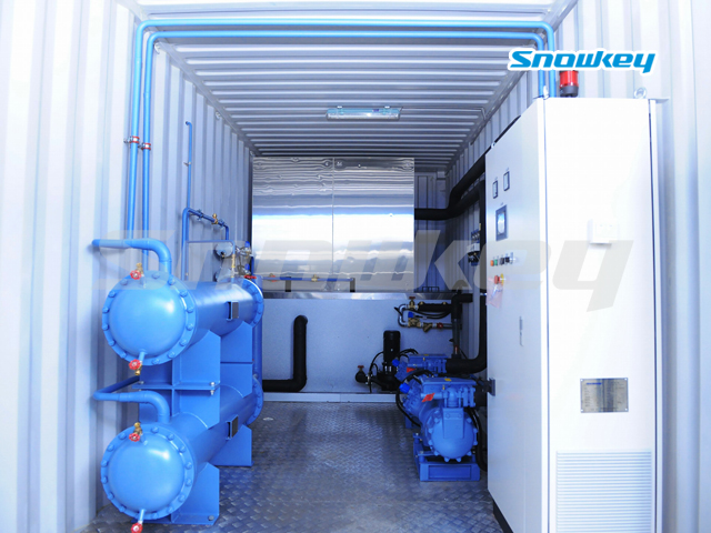 Containerized Water Chiller CW480 (20T Hour)