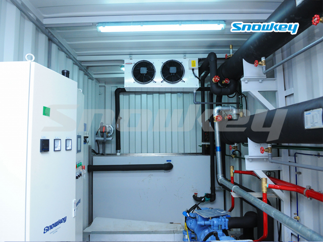 Containerized Water Chiller ICW180 (7.5T/Hour)
