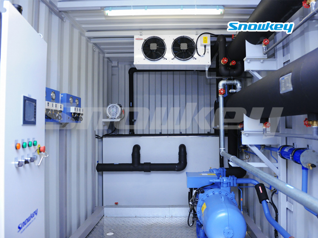 Containerized Water Chiller ICW240 (10T/Hour)