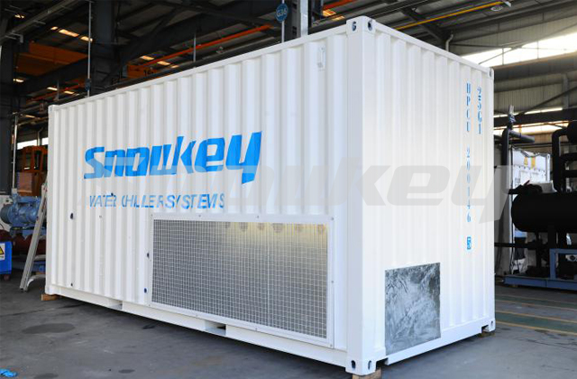 Containerized Water Chiller ICW60 (2.5T Hour) 2