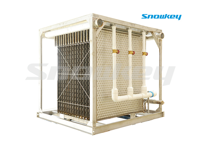 Falling-Film Type Water Chiller