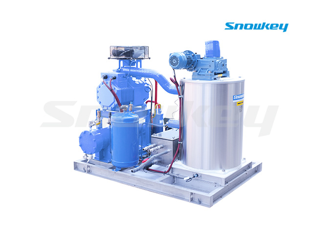 Seawater Flake Ice Machine SFM10W (1T/D)