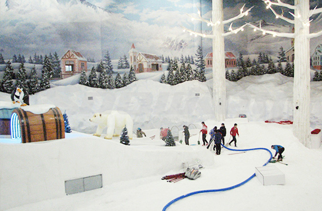 Indoor Artificial Ice & Snow Entertainment Project