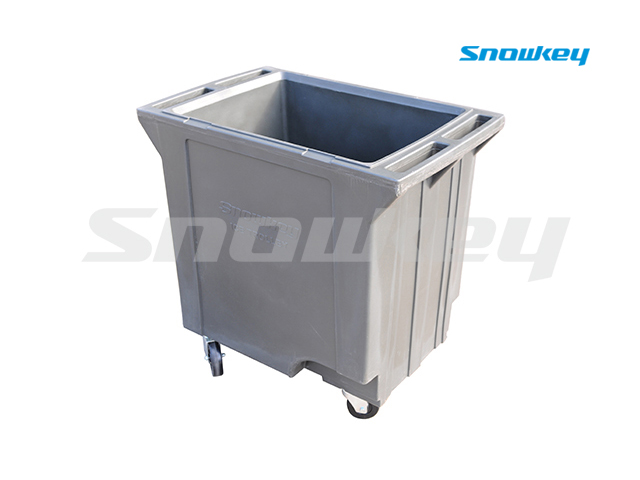 Plastic Ice Trolley