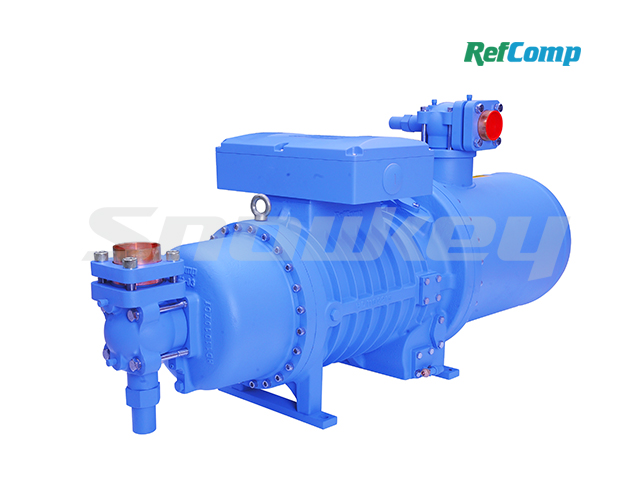 SRC-S-413WD Flooded Falling Film Special Screw Compressor