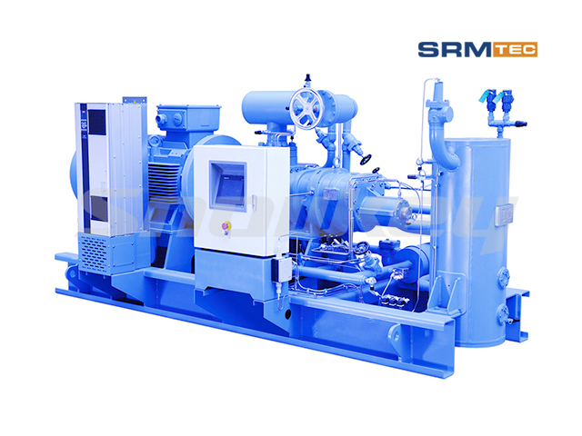 SRMP1V-16 Open-Type Single-Stage Inverter Screw Compressor Unit