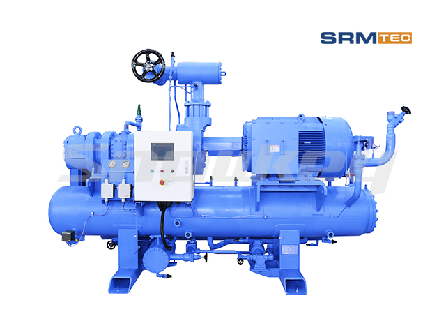 SRMP2-1612 Open-Type Compound Two-Stage Fixed Frequency Screw Compressor Unit