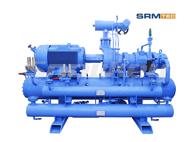 SRMP2-1612 open-type compound two-stage fixed frequency screw compressor unit2