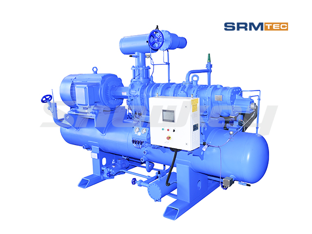 SRMP2-2016 Open-Type Compound Two-Stage Fixed Frequency Screw Compressor Unit