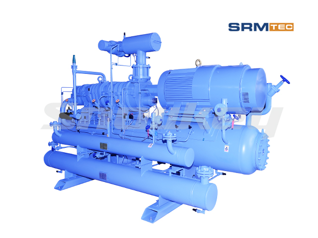 SRMP2-2016 open-type compound two-stage fixed frequency screw compressor unit2