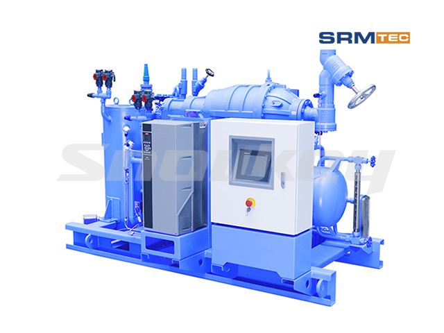 SRSP1V-12 Semi-Hermetic One-Stage Inverter Screw Compressor Unit