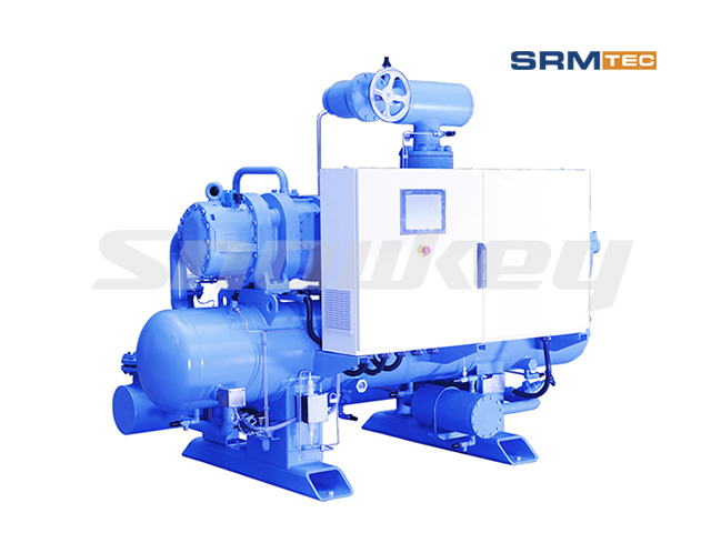 SRSP2V-1612 Semi-Hermetic Two-Stage Inverter Screw Compressor Unit