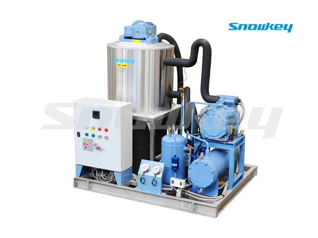 Slurry Ice Machine For Sea Water On Board Using S50W (5ton/Day)