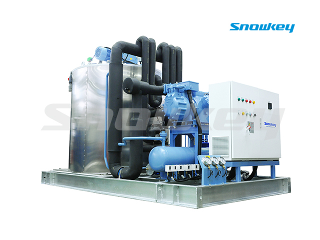 Slurry Ice Machine For Sea Water On Land Using S375W (35ton/Day)
