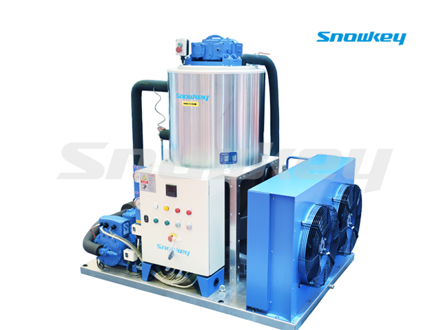 Slurry Ice Machine For Sea Water On Land Using S50W (5ton/Day)