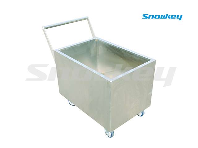 Stainless Steel Ice Trolley