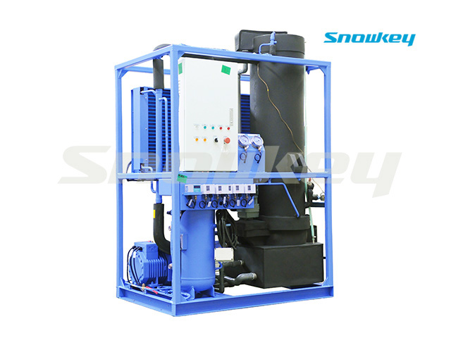 Tube Ice Machine TIM10A (1T/D+Ice Store)