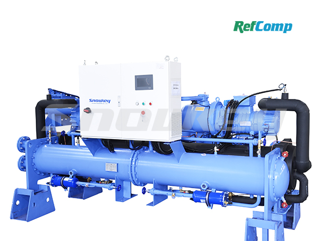 Water-Cooled Dry-Type Brine Chiller with Screw Compressor CWH290WDHA