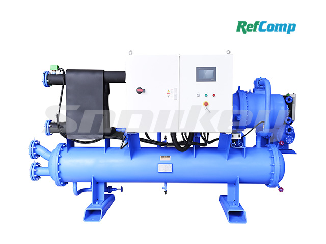 Water-Cooled Dry-Type Brine Chiller with Screw Compressor CWH297WDHA
