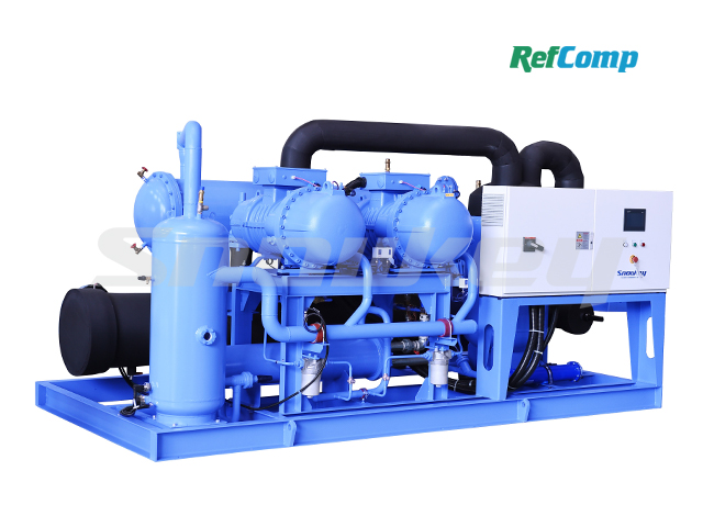 Water-Cooled Dry-Type Brine Chiller with Screw Compressor CWL240WDHA