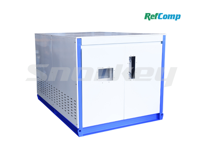 Water-cooled dry-type brine unit with piston compressor CWH90WDHA 3