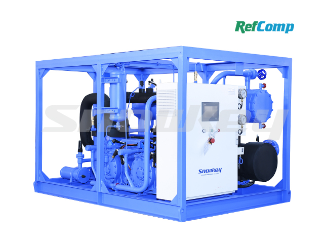 Water-Cooled Dry-Type Brine Unit with Piston Compressor CWH90WDHA