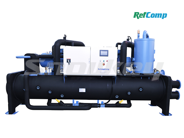 Water-Cooled Flooded-Type Brine Chiller with Screw Compressor CWL400WFHA