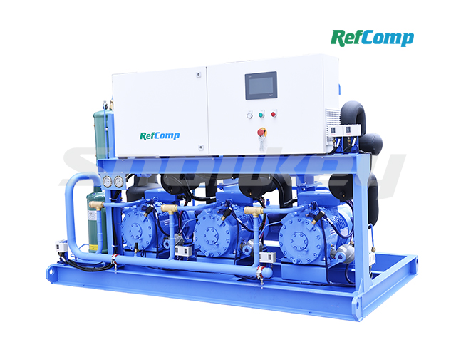 Water-Cooled Piston Compressor Condensing Unit W3P4H015