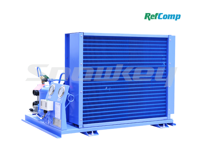 Water-cooled piston compressor condensing unit WP2H005(R22) 2