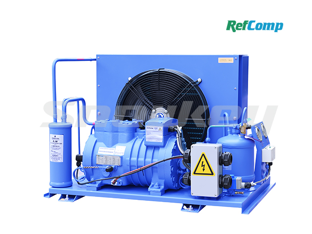 Water-cooled piston compressor condensing unit WP2H005(R22)