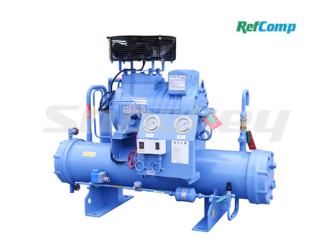 Water-Cooled Piston Compressor Condensing Unit WP2L005