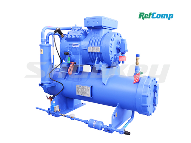 Water-cooled piston compressor condensing unit WP4H012 2