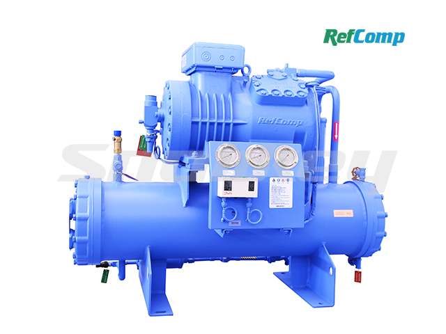 Water-Cooled Piston Compressor Condensing Unit WP4H012