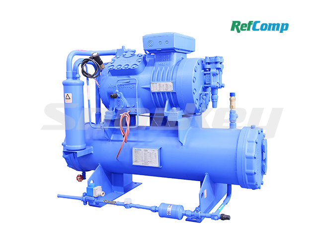 Water-cooled piston compressor condensing unit WP4H015 2