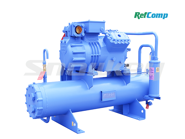Water-cooled piston compressor condensing unit WP4H025 2