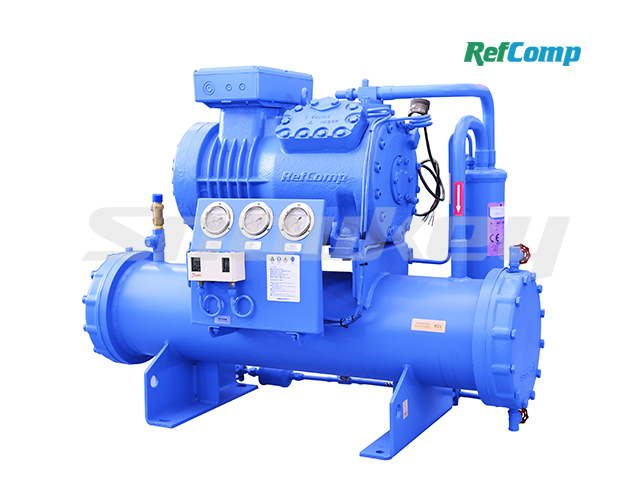 Water-Cooled Piston Compressor Condensing Unit WP4L008